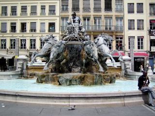 Lyon fountain